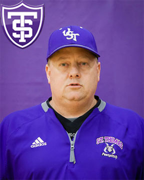John Tschida Head Softball Coach University of St. Thomas