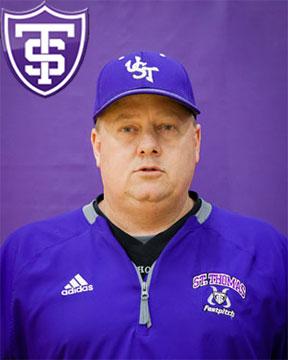 John Tschida Head Softball Coach University of St. Thomas