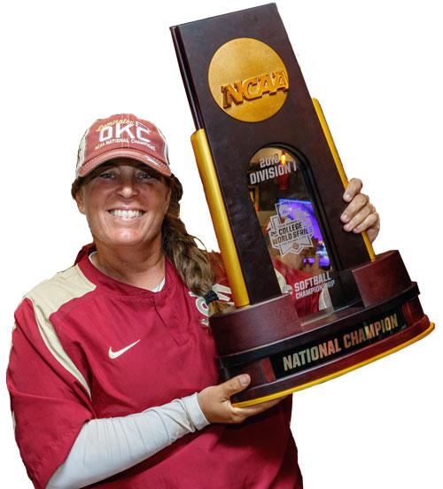 Lonni Alamedia Head Coach Florida State University 2018 National Softball Champions Women's College World Series